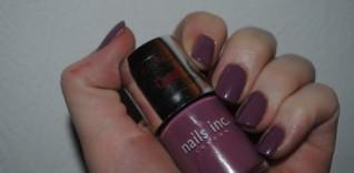 Nails Inc Nails: Heather Grey