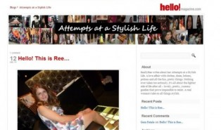 My New Blog for Hello Magazine!!