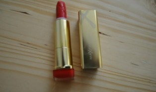The Caroline Barnes Max Factor Colour Elixir Lipstick Challenge. Day Five