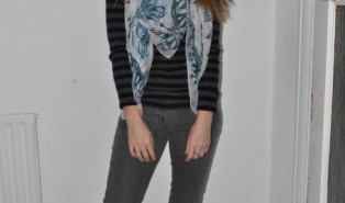 Outfit of the Day – Stripes and Print