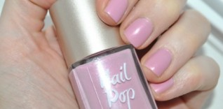 Today's Nails are Baby Pink.