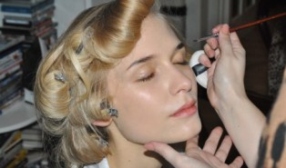 Sneak Peek! FashionistA Makeup for PPQ at London Fashion Week Autumn Winter 12