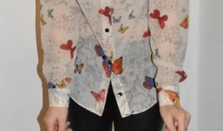 Outfit of the Day – Butterfly Shirt
