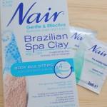 Hair Removal: Nair Brazilian Spa Clay Body Wax Strips Review
