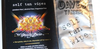 Famous Dave Self Tan Wipes Review