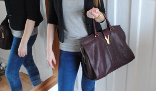 YSL Cabas Chyc Bag – Outfit of the Day