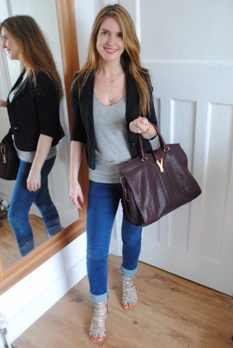 YSL Cabas Chyc Bag - Outfit of the Day