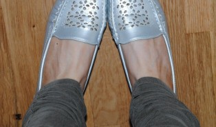 Silver Shoes for Everyday