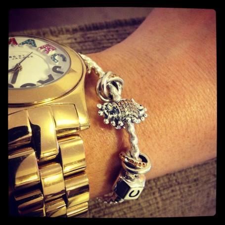 Chamilia Silver Bead Bracelet