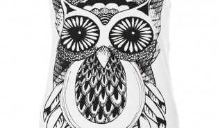 Wanted! Owl Print Top