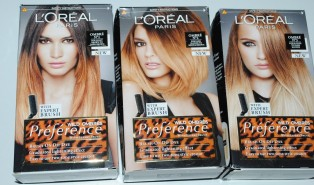L'Oreal Preference Wild Ombre Kit Review