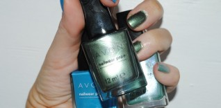 Avon Arctic Goddess Nail Collection
