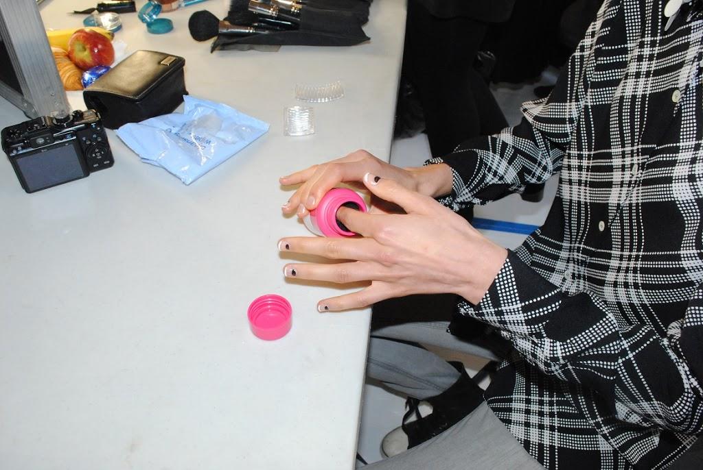 Bourjois Magic Nail Polish Remover Backstage At London Fashion Week Really Ree