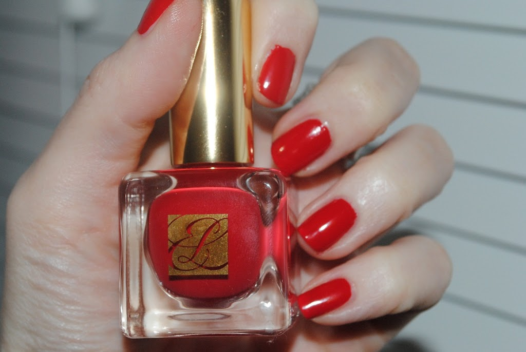 Estee Lauder Pure Colour Nail Lacquer Red Hautes Collection - Really Ree