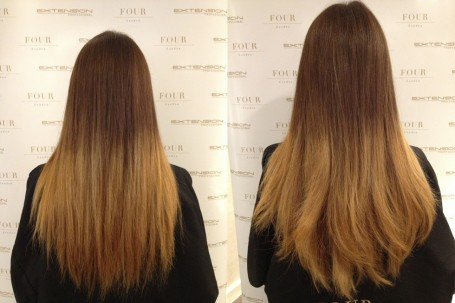 extension+professional+hair+before+after+back