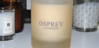 Osprey London Dark Amber Candle