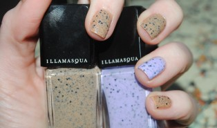 Illamasqua I'mperfection Nails: Freckle and Speckle