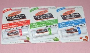 New Lip Balms from Palmers – Chocolate Lovers Pay Attention!
