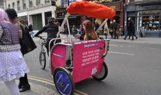 London Fashion Week Highlight: A Rickshaw to Somerset House