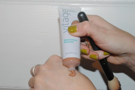 vitage+colour+minerals+daily+perfector+swatch