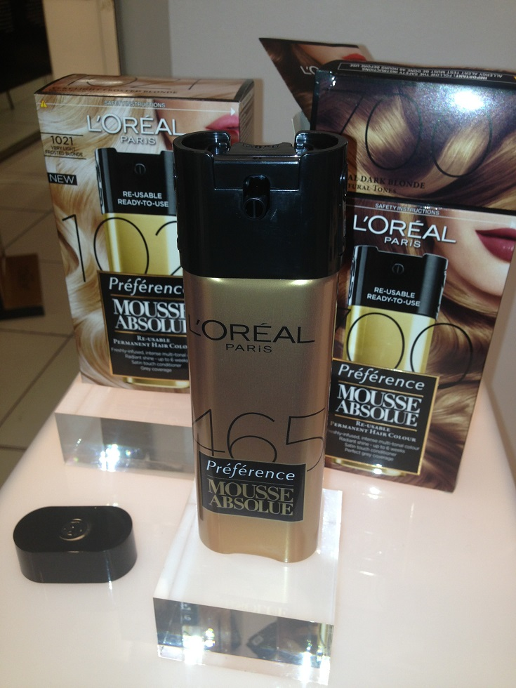 Loreal Mousse Absolue Home Hair Permanent Hair Colour Review