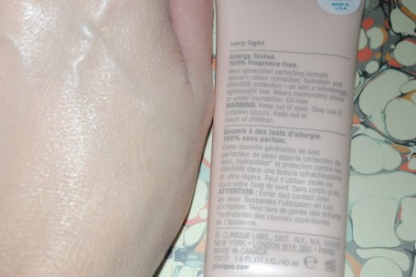 clinique+cc+cream+very+light+swatch+blended
