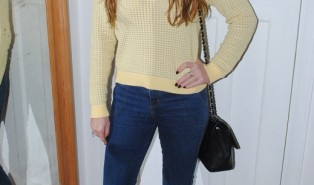 Outfit: Gant Yellow Jumper