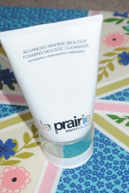La-Prairie-Advanced-Marine-Biology-Foaming-Mousse-Cleanser-Review
