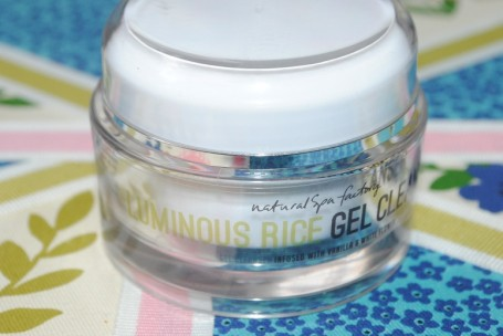 natural+spa+factory+luminous-rice-gel-cleanser-review