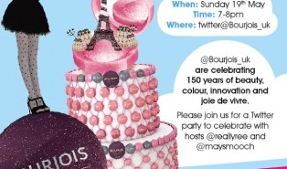 Bourjois' 150th Birthday Twitter Party Invitation! #bourjois150