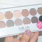 MUA Undress Me Too Eye Palette Review and Swatches