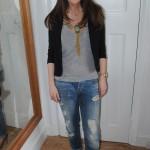 Outfit: ASOS Boyfriend Jeans & Blazer