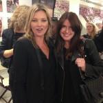 Kate Moss and Charlotte Tilbury at Selfridges
