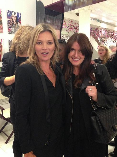 Kate Moss and Charlotte Tilbury at Selfridges - Really Ree
