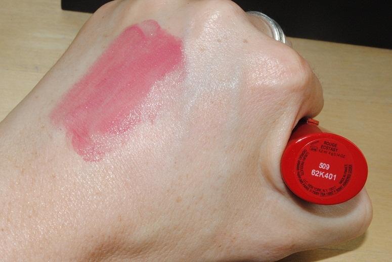 Giorgio Armani Rouge Ecstasy Cc Lipstick Swatches Really Ree