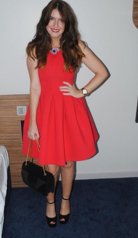 msgm-red-neoprene-lampshade-dress