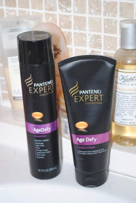 Pantene Expert Collection Age Defy Shampoo and Conditioner ...