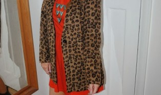 Outfit: Leopard Jacket and Chelsea Boots for Autumn 2013