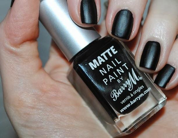 Barry m matte nail polish espresso black swatch for Black paint swatch