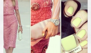 Burberry SS14 Nails in Pale Yellow for Cara Delevingne (and Me!)