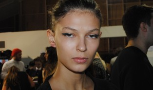 David Koma Spring Summer 14 Backstage Beauty with Maybelline