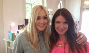 Fearne Cotton Beauty Chat and Christmas 2013 Makeup Range at Boots