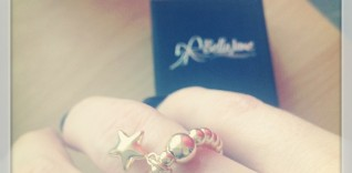 Gold Star Charm Ring from Bella Jane