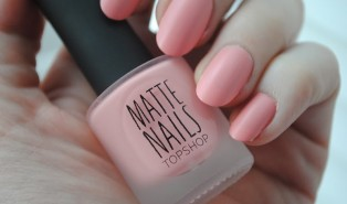 Topshop Matte Nails Candy Fox Review and Swatch