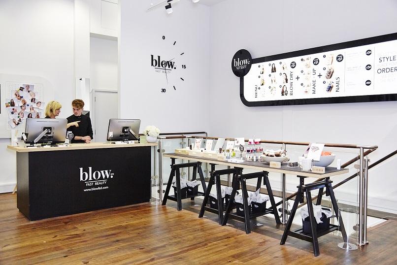 Blow ltd fast beauty hair makeup and nails salon review for Makeup salon