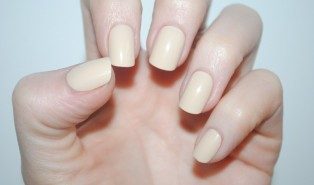 Elegant Touch Polished UV Gel Nails Review – Nude
