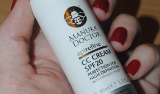 Manuka Doctor Apirefine CC Cream SPF20 Review (Purified Bee Venom) with Before and After Photos