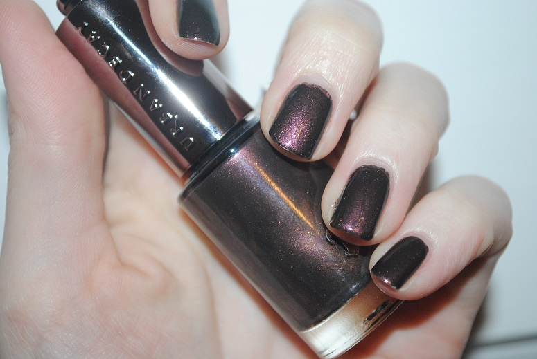 Urban Decay Nail Polish In Blackheart Review