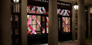 Burberry Beauty Box Boutique in Covent Garden