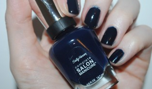 Sally Hansen Complete Salon Manicure 832 Night Watch Review, Swatch: 12 Nails of Christmas Day 5